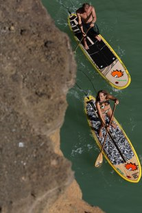 stand-up-paddle-fuerteventura-cbcm rider palace Steph Etienne Nicole Boronat